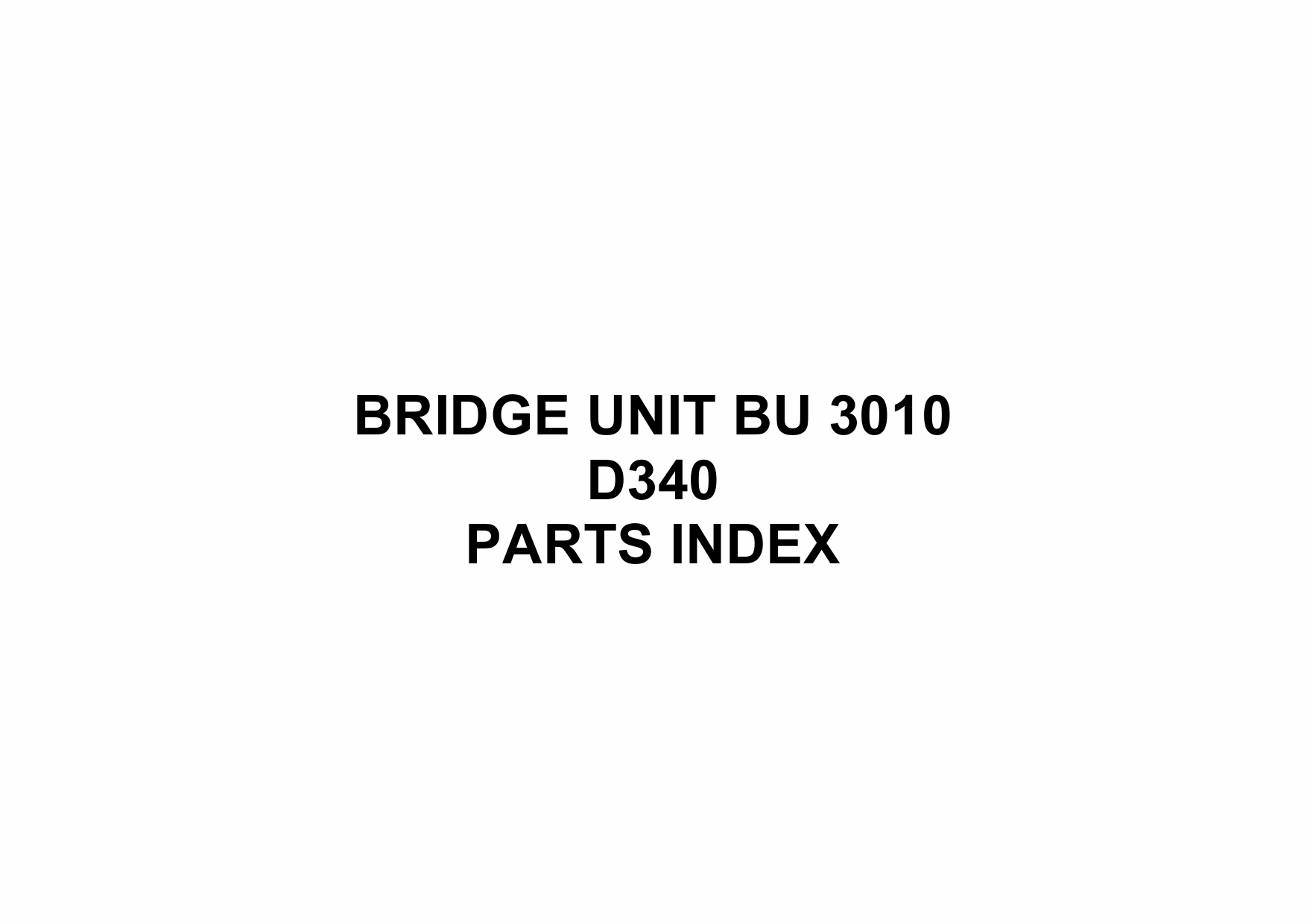 RICOH Options D340 BRIDGE-UNIT-BU-3010 Parts Catalog PDF download-5